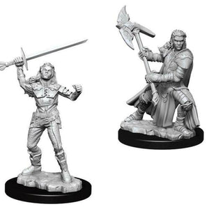 Dungeons & Dragons Nolzurs Marvelous Miniatures Female Half-Orc Fighter WZK73542