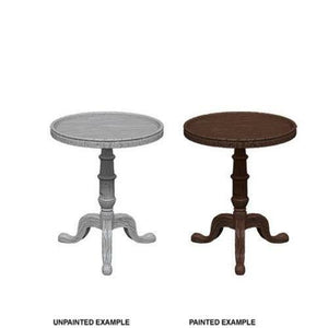WizKids Deep Cuts Unpainted Minis: Small Round Tables WZK73365