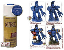 Load image into Gallery viewer, The Army Painter Ultramarine Blue Primer Acrylic Spray for Miniature Painting