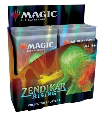 Magic The Gathering Zendikar Rising Collector Booster Box (12 Packs)