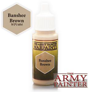 "The Army Painter Warpaints 18ml Banshee Brown ""Brown Variant"" WP1404"