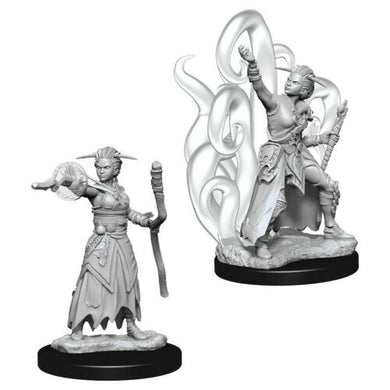 Dungeons & Dragons Nolzur's Marvelous Miniatures - Female Human Warlock WZK73837