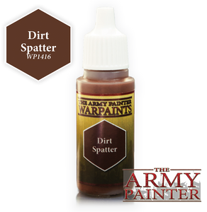 "The Army Painter Warpaints 18ml Dirt Spatter ""Brown Variant"" WP1416"