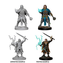 Load image into Gallery viewer, Pathfinder Deep Cuts Unpainted Miniatures: Human Male Cleric WZK72600