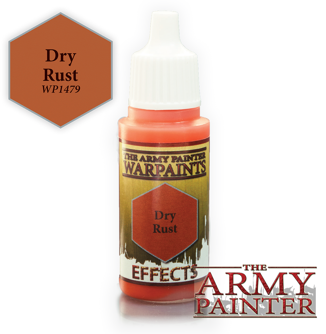 The Army Painter Effects Warpaints 18ml Dry Rust