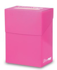 Ultra Pro Deck Box Hot Pink Card Holder for Standard & Small CCG MTG Gaming