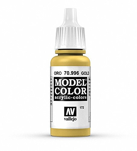 Vallejo Gold Model Color Paint, 17ml