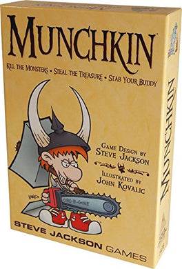 The Original Munchkin By Steve Jackson Games
