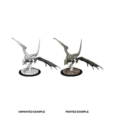 WizKids D&D Nolzur's Marvelous Miniatures: Young White Dragon 73712