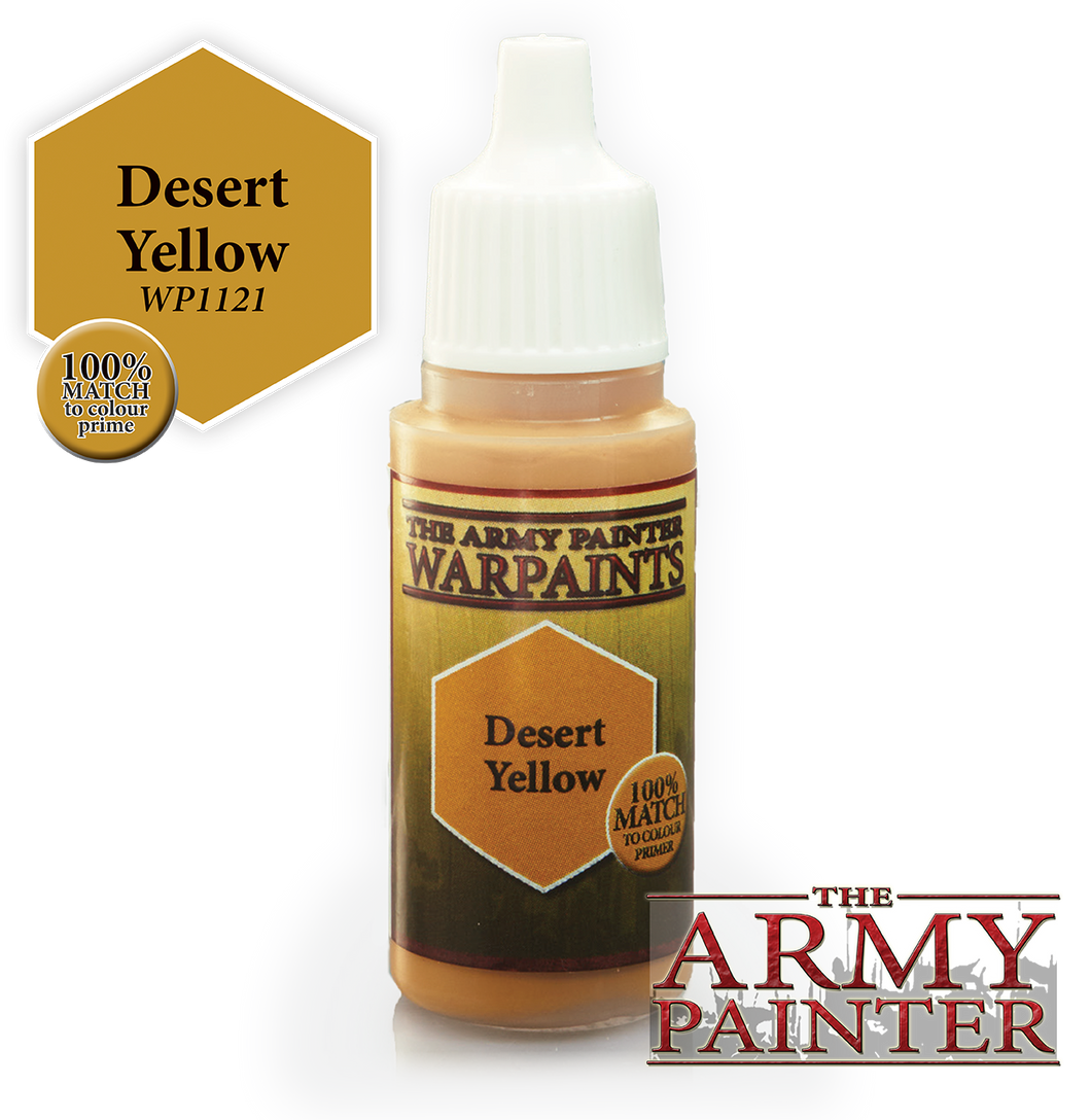 The Army Painter Warpaints 18ml Desert Yellow
