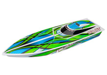 Load image into Gallery viewer, Blast: High Performance Race Boat with TQ 2.4GHz Radio System Green