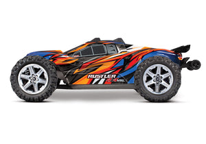 Traxxas Rustler 4x4 VXL Brushless RC Stadium Truck Orange w/TSM