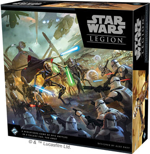 Star Wars: Legion - Clone Wars Core Set Starter Game Fantasy Flight Games SWL44