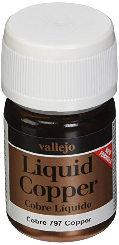 Vallejo Model Color Copper Paint, 35ml