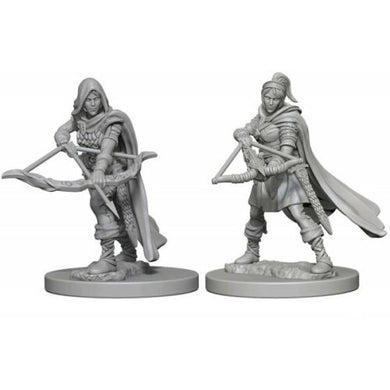 Dungeons & Dragons Nolzur's Marvelous Unpainted Minis: Human Female Ranger