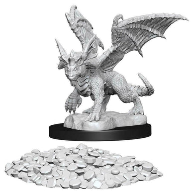 Dungeons & Dragons Nolzur's Marvelous Miniatures - Blue Dragon Wyrmling WZK73852