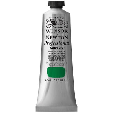 Winsor & Newton Professional Acrylic Color Paint, 60ml Tube, Hooker's Green
