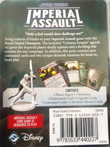 Star Wars: Imperial Assault - Royal Guard Champion Villain Pack - SWI04