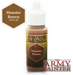 "The Army Painter Effects Warpaints 18ml Monster Brown ""Brown Variant"" WP1120"