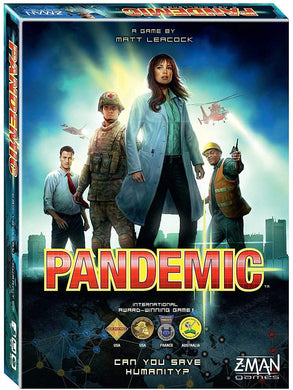 Pandemic Board Game - Z-MAN ZM7101