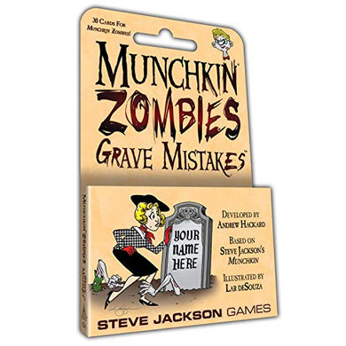 Steve Jackson Games Munchkin Zombies Grave Mistakes