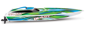 Blast: High Performance Race Boat with TQ 2.4GHz Radio System Green
