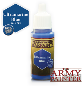 "The Army Painter Warpaints 18ml Ultramarine Blue ""Blue Variant"" WP1115"