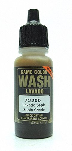 Vallejo Game Color Sepia Wash, 17ml