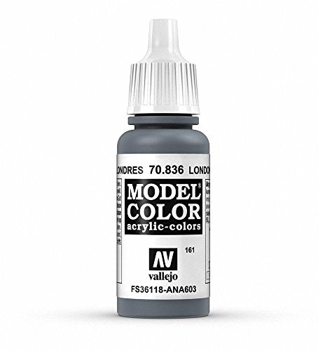 Vallejo Model Color London Grey Paint, 17ml