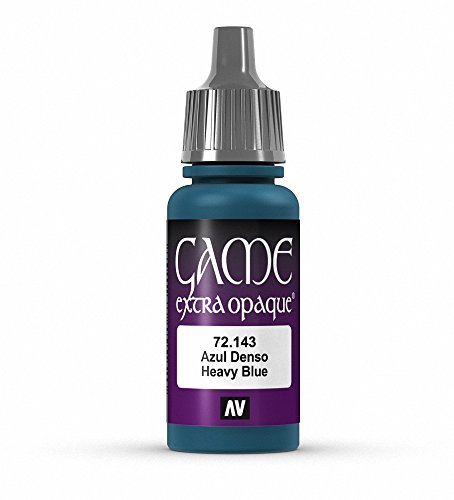 Vallejo Game Color Heavy Blue X-Opaque Paint, 17ml