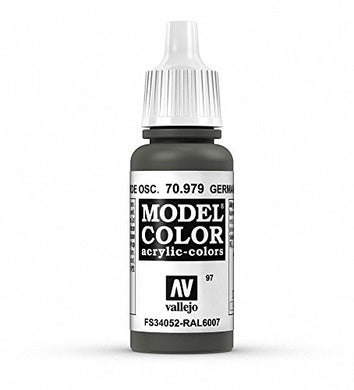 Vallejo Model Color German Cam Dark Green, 17ml