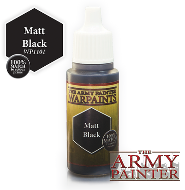 The Army Painter Warpaints 18ml Matt Black