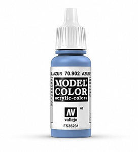 Vallejo Model Color Azure Paint, 17ml