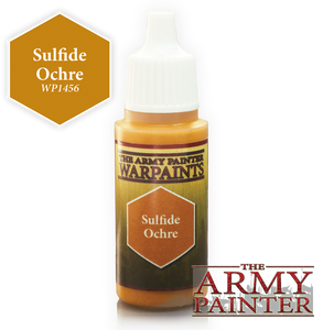 "The Army Painter Warpaints 18ml Sulfide Ochre ""Yellow Variant"" WP1456"