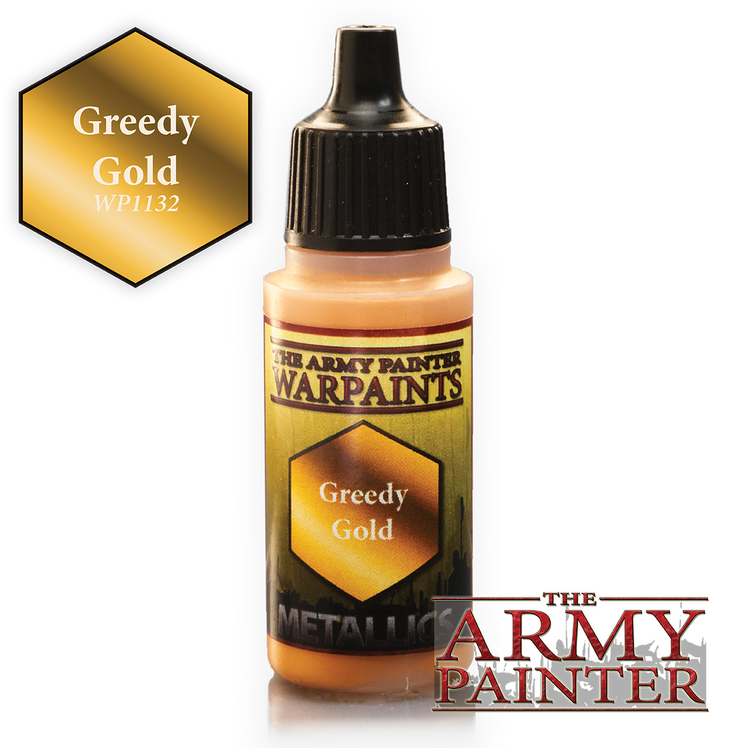 The Army Painter Metallics Warpaints 18ml Greedy Gold