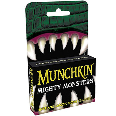 Munchkin Mighty Monsters with Five Hard to Find Promo Cards for Classic Munchkin