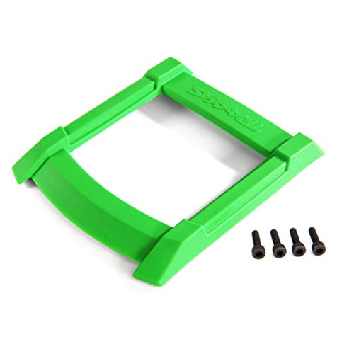 Traxxas 8917G MAXX Skid Plate, Roof (Body), Green/ 3x12mm Cs (4)