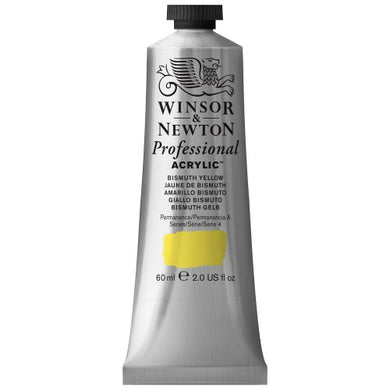 Winsor & Newton Professional Acrylic Color Paint, 60ml Tube, Bismuth Yellow