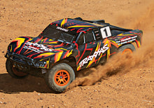 Load image into Gallery viewer, Traxxas 68054-1 Slash 4x4 Brushed 1/10 Short Course RTR Truck Batt Charger ORNG