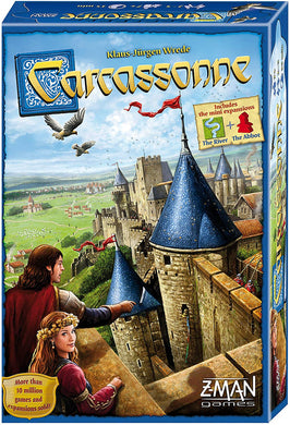 Carcassonne Board Game Standard By Klaus Jurgen Wrede , Z-MAN games ZM7810