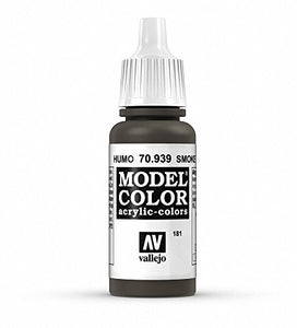 Vallejo Model Color Smoke Paint, 17ml