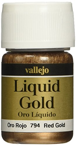 Vallejo Red Gold Paint, 35ml
