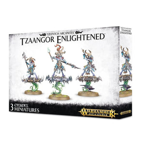 Games Workshop Warhammer Age of Sigmar Tzeentch Tzaangor Enlightened 83-74