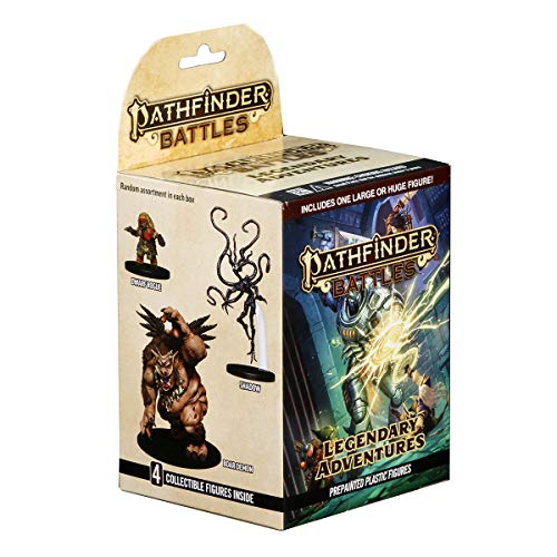 WizKids Pathfinder Battles: Legendary Adventures Standard Boosters Miniatures