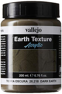 Vallejo 200ml Dark Earth