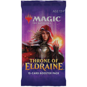 Magic: The Gathering Throne of Eldraine Booster Pack by Wizards of the Coast