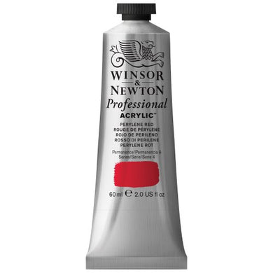 Winsor & Newton Professional Acrylic Color Paint, 60ml Tube, Perylene Red