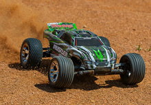 Load image into Gallery viewer, Traxxas Rustler XL-5 GREEN RTR RC Truck w/Battery & Quick Charger