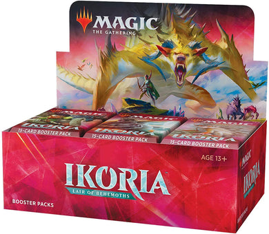 Magic: The Gathering Ikoria Booster Box 36 Booster Packs (540 Cards)