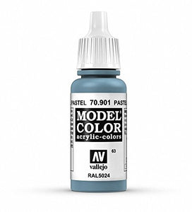 Vallejo Model Color Pastel Blue Paint, 17ml